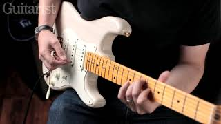 Fender Vintage Custom 57 Strat 58 Jazzmaster 62 Strat Demo