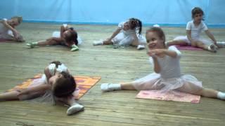 Открытый урок в Харьковской балетной школе ч.2