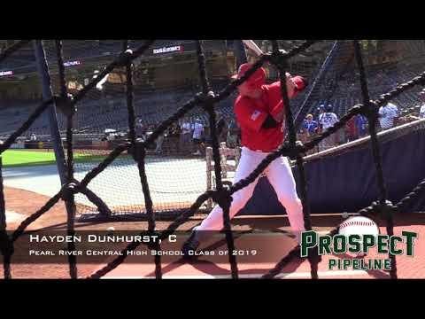 Hayden Dunhurst Prospect Video, C, Pearl River Central High School Class of 2019