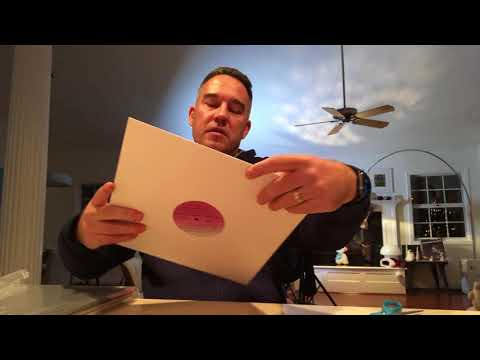 "Got my last three record orders from Pacific Beach Vinyl .. Watch me unpack! 12"" VINYL RECORDS"