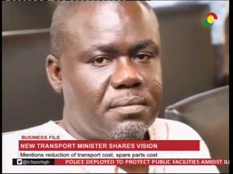 New transport minister shares vision - 13/1/2017