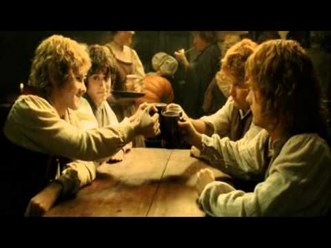 04 The Cat and the Moon [ the drinking song w/ Lyrics ;p ] - The Lord of the Rings hD