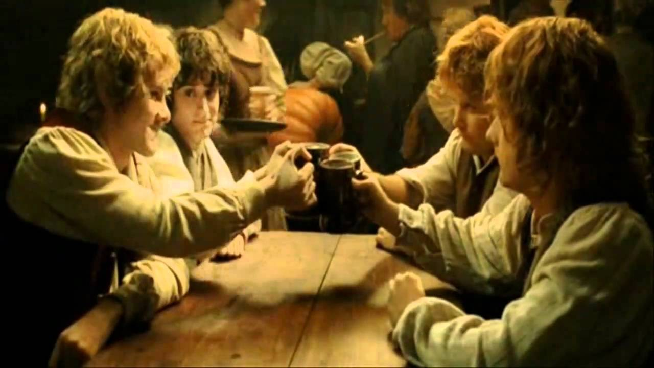Lord Of The Rings Drunk