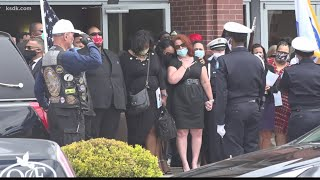 Murdered Retired St. Louis Police Captain David Dorn Laid To Rest