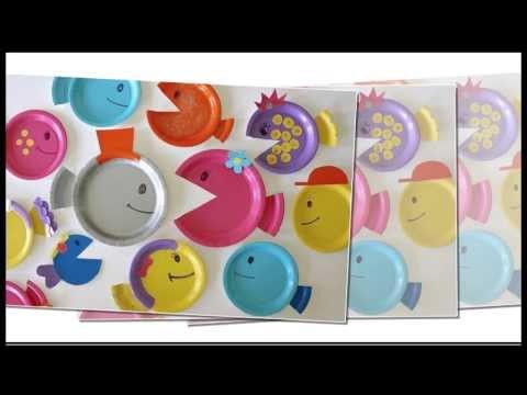 Поделки с детьми из одноразовой посуды(тарелок) Своими руками