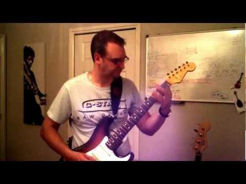 Open C Tuning Metal Riff