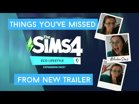 The Sims 4: Things you have missed from new expansion pack: ECO LIFESTYLE #Avlensims |