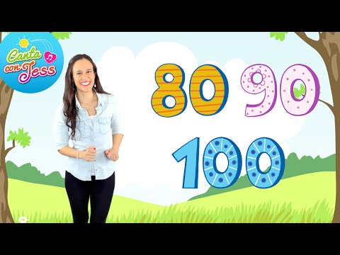 Learn to Count to 100 by 10s in Spanish | Los Números del 10 al 100