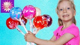 Lollipop Challenge Чупа Чупс Челлендж – Огромные чупачупсы отгадываем на вкус