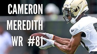 Cameron Meredith raw footage from Saints OTAs