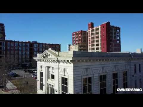 Waterfront Lab Office Drone Overview