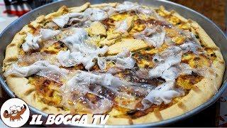 641 - Torta salata zucca e lardo..ti vien fame co' uno sguardo! (piatto unico o antipasto facile)