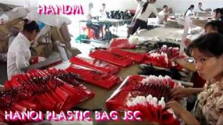 VIDEO OF HANOI PLASTIC BAG FACTORY - PLASTIC BAGS MANUFACTURER