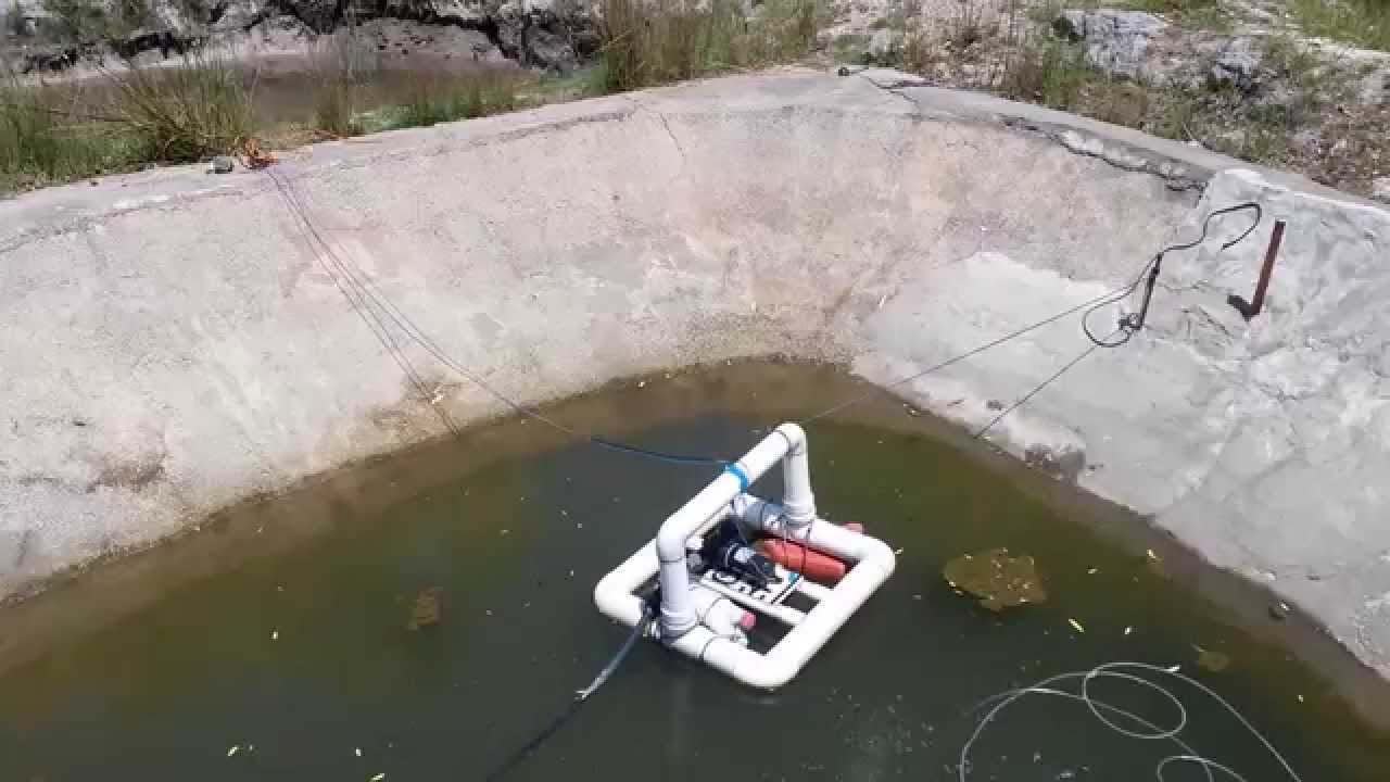 DIY ~ Large capacity 12v Solar aerator