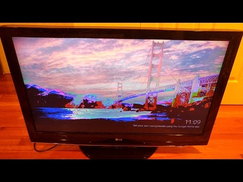How to Fix and Repair LG 42LH30 LCD TV Solarization by Replacing T-Con & Main Board