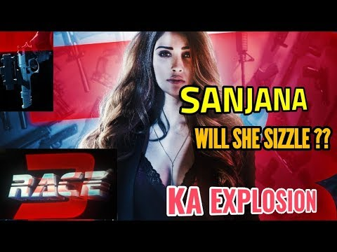 SALMAN KHAN DUCES DAISY SHAH IN AND AS SANJANA  RACE 3