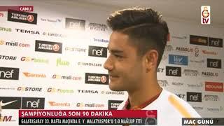 Galatasaray 2-0 Yeni Malatyaspor | Maç sonu genç futbolcu Ozan Kabak ile röportaj
