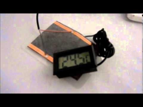 Usb Powered Hand Warmer Heated Pad Youtube