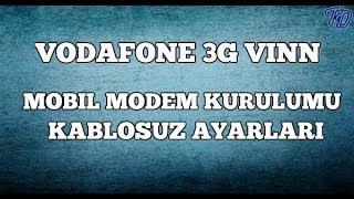 Vodafone 3G Mobil Vınn Modem Kurulumu