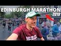 Edinburgh Marathon 2019 | Race VLOG | Here We Are Running