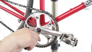 Remove A Bike's Square Tapered Crank