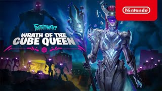 Fortnitemares 2021 - Wrath of the Cube Queen Story Trailer - Nintendo Switch