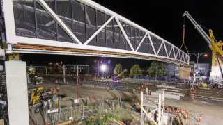 Regional Rail Link: Hv Mckay Footbridge, Sunshine
