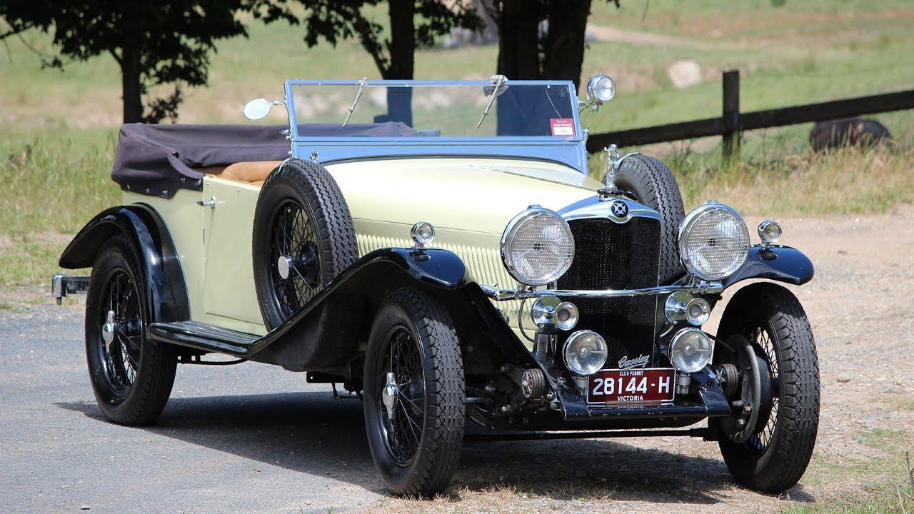 Crossley Alf Wilson Unique Cars Magazine Youtube