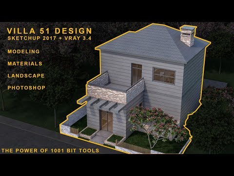 Download Villa Scoda Modeling Materials Vray Settings
