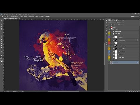 Modern Art 2 Photoshop Action Guide