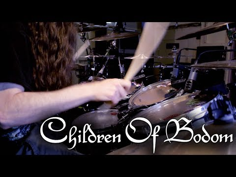 "Children of Bodom - ""Needled 24/7"" - DRUMS"