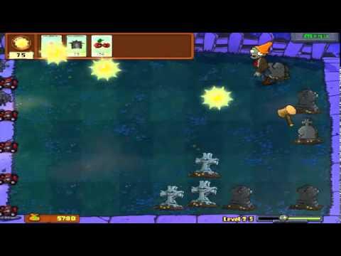 Plants vs zombies (Trồng cây bắn zombie) - Cấp độ 2-5 (Game Việt Hóa)