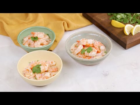 Coconut Shrimp Ceviche