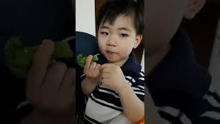 브로콜리 먹어요!