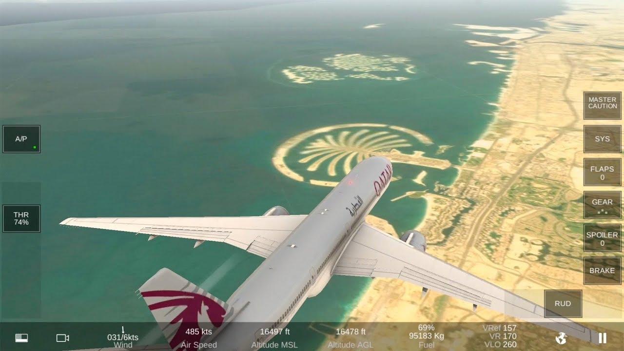 Real Flight Simulator - RFS Testing Locations: Dubai, Causeway, Makkah,  Dolomites