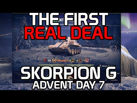 The First Real Deal: Skorpion G (Advent Dec 7th)