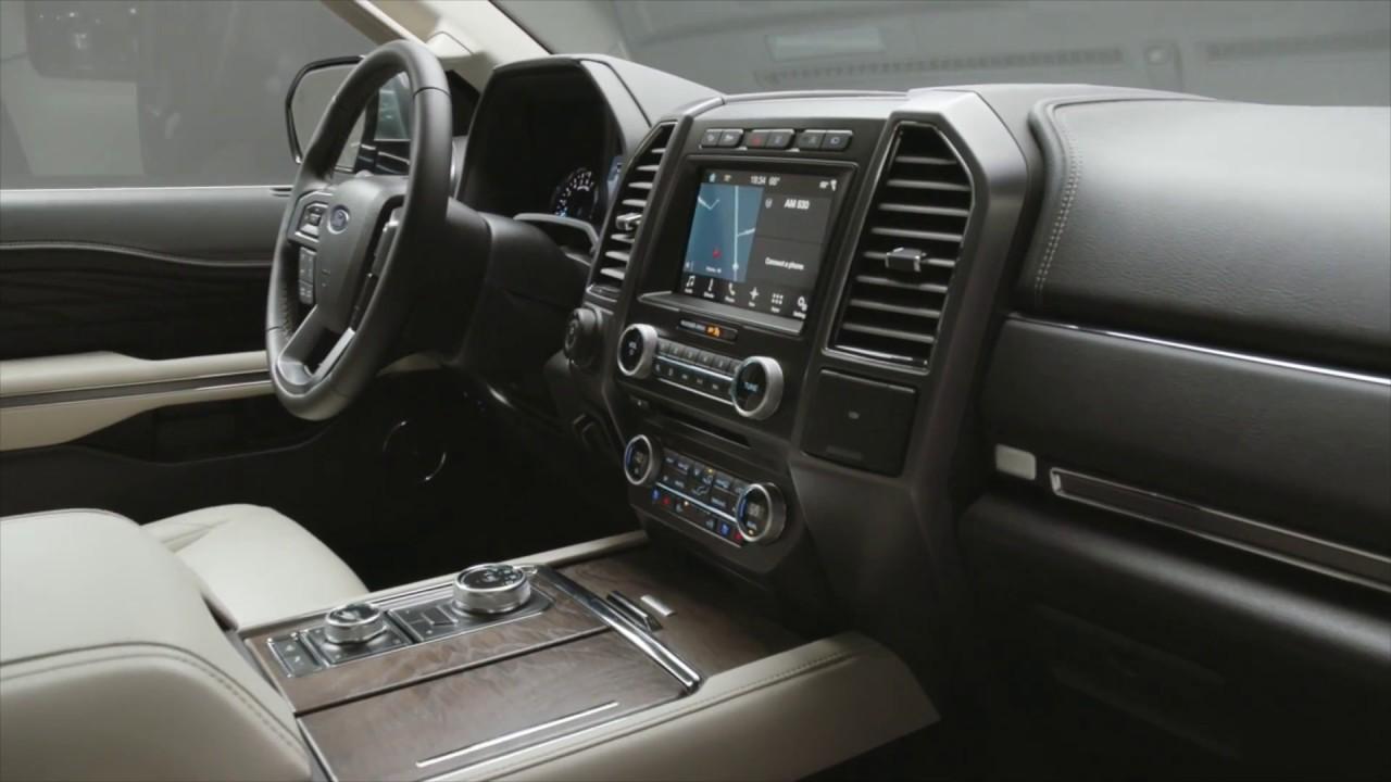 2018 Ford Expedition Interior Design Automototv Youtube