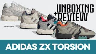 UNBOXING+REVIEW - adidas ZX Torsion