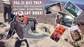 USA Trip 2018 - 21 Days / Путешествие США 2018 - 21 день [EN/RU] / Видео