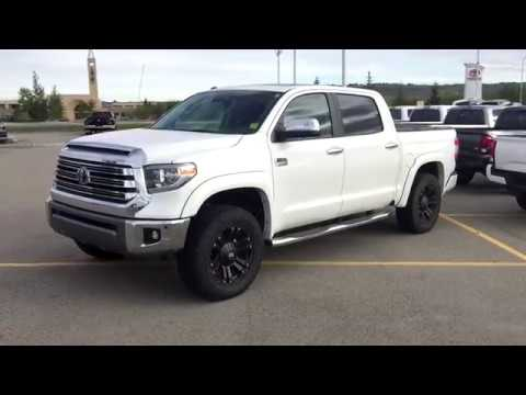 285 60r20 In Inches >> Lifted 2019 Toyota Tundra 1794 Edition On 285 60r20 Tires