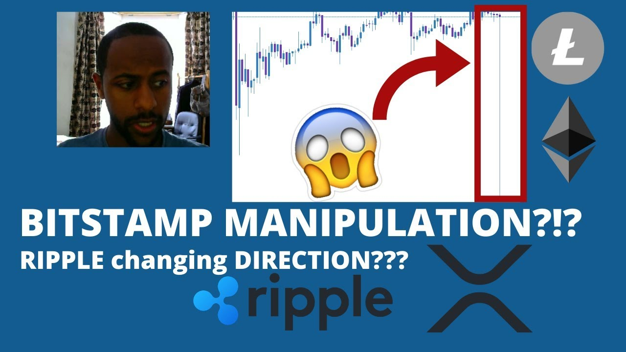 RIPPLE changing DIRECTIONS with ODL??? | BITSTAMP MANIPULATION??! | #BITCOIN #ETHEREUM #CRYPTO 3