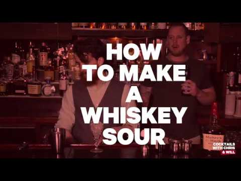 Cocktails with Chris and Will - How to Make a Whiskey Sour