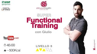 Functional Training -  Livello 3 - 5 (Live)