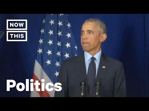 Former President Barack Obama Speaks at the University of Illinois | NowThis