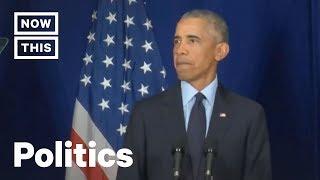 Former President Barack Obama Speaks at the University of Illinois | NowThis