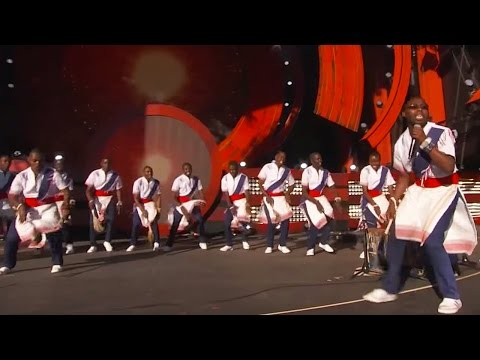 Kenyan Boys Choir Kill Em with Kindness | Live at Global Citizen Festival 2016