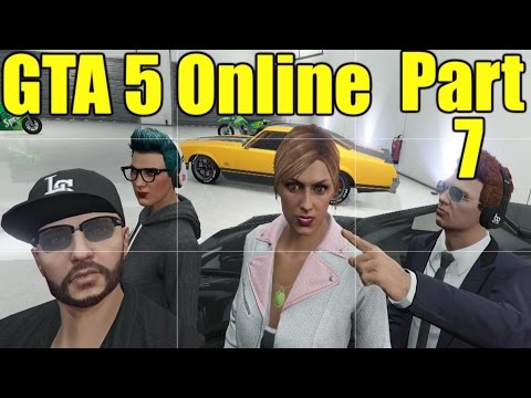 The FGN Crew Plays: GTA 5 Online Part 7 -Gaining Entrance (PC)