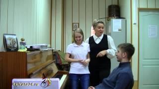 Урок вокала. Визуальное и аудиальное восприятие. Джазовая импровизация,спонтанный тест