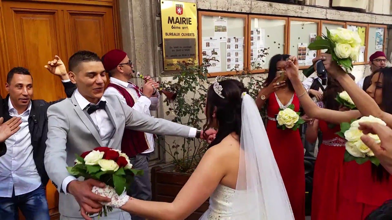 groupe tabal tunisien en france moustapha ambiance mariage franco tunisien  le 19 mars 2016 matin , YouTube