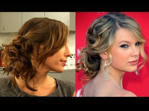 Wie Macht Man Eine Taylor Swift Inspirierte Messy Updo Frisur